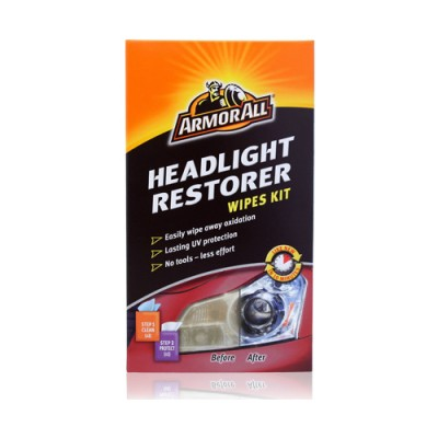 HEADLIGHT RESTORER WIPES KIT (185140100)